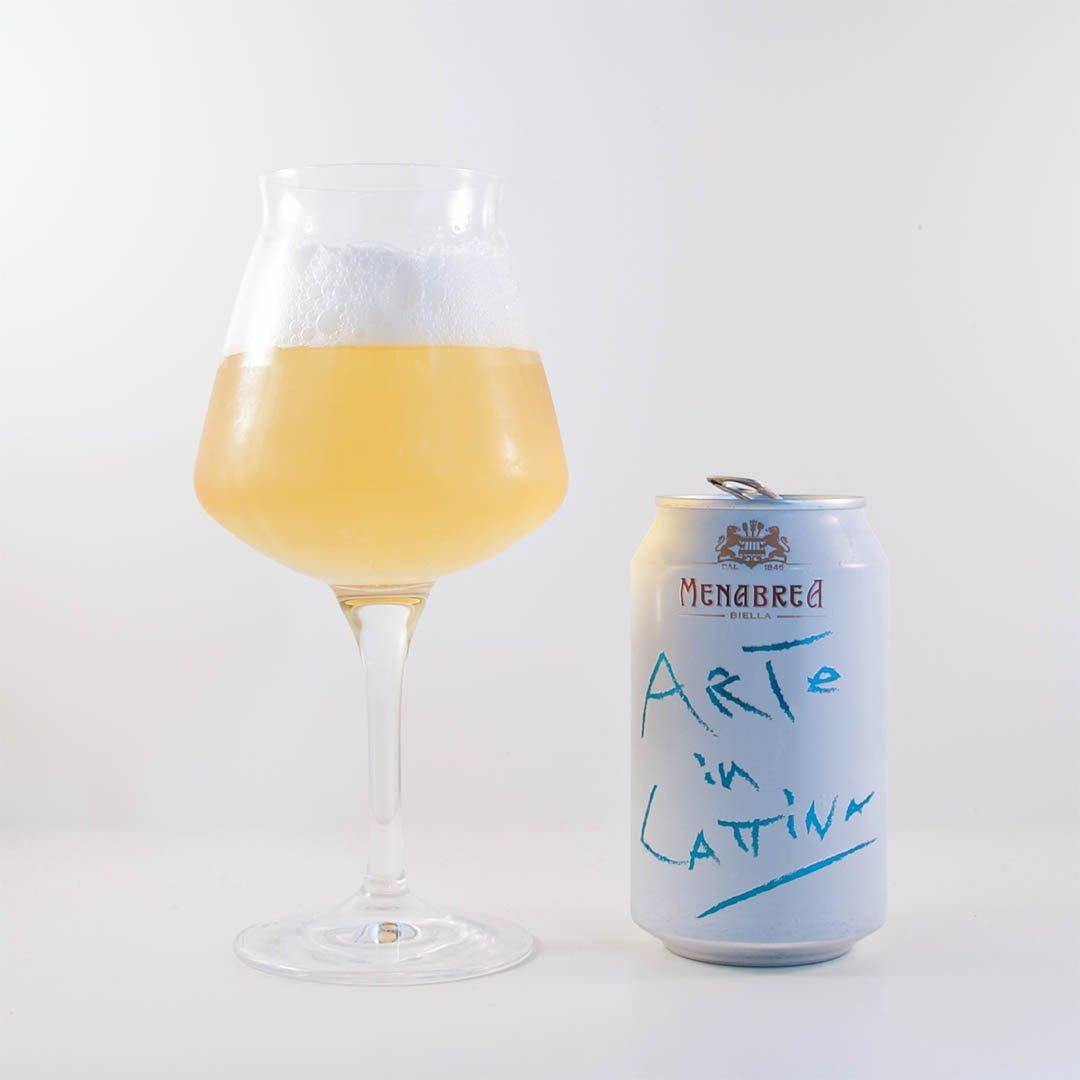 Arte in Lattina från Birra Menabrea dricker jag helst i sitt hemland.