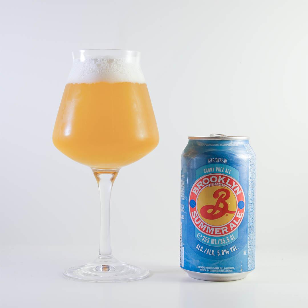 Brooklyn Summer Ale är lättsam öl. Men är lite för tunn för min smak.