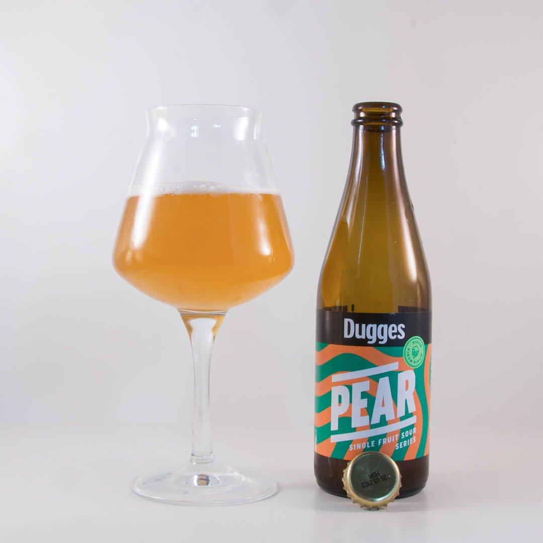 Dugges Pear från Dugges Bryggeri har syrlig smak av päron. Gillar du päron, så kan detta vara en öl för dig.