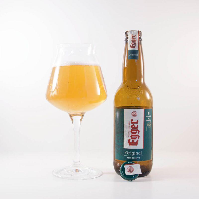 Egger Original är en tråkig och intetsägande öl som lämpar sig bäst att dricka i hemlandet.