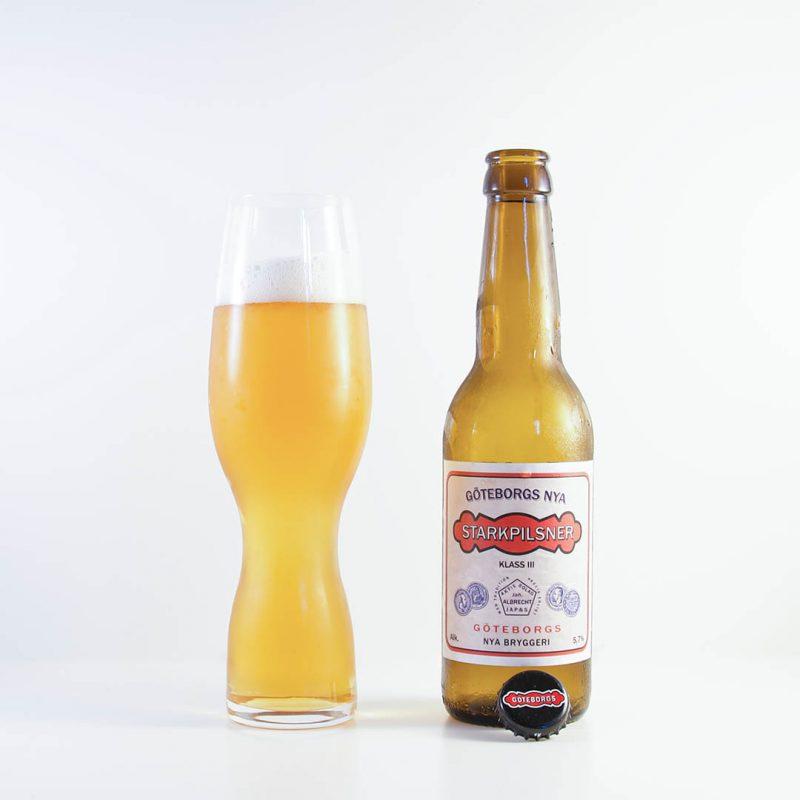 Göteborgs Nya Starkpilsner från Göteborgs Nya Bryggeri är ingen öl jag köper igen.