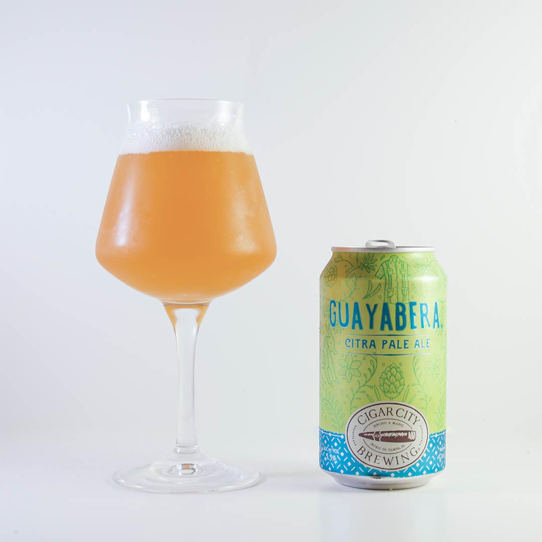 Guayabera Citra Pale Ale från Cigar City Brewing har doft och smak av tropiska frukter.