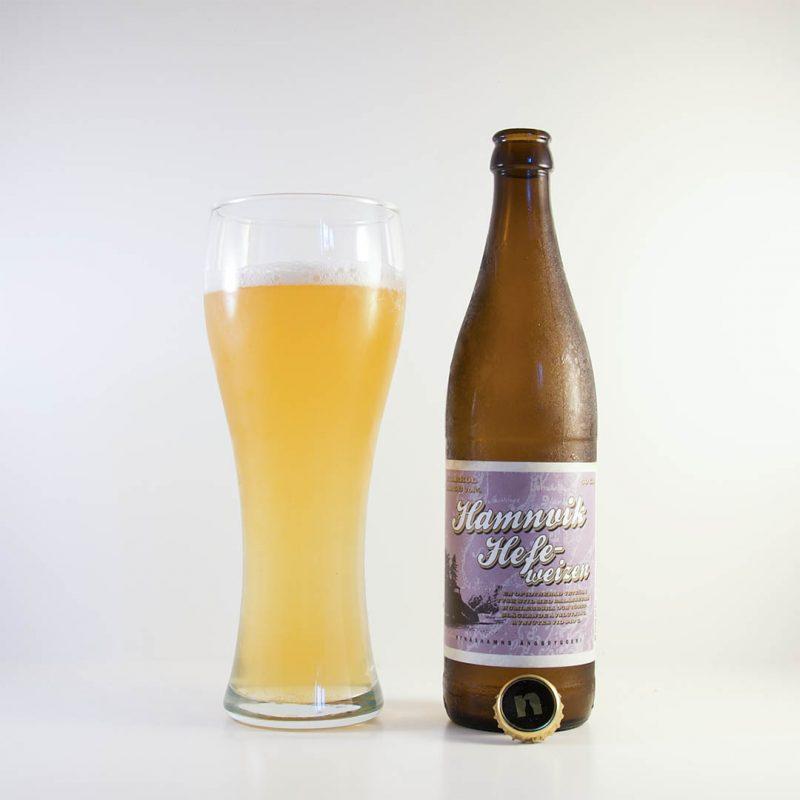 Hamnvik Hefeweizen från Nynäshamns Ångbryggeri är en helt okej öl.