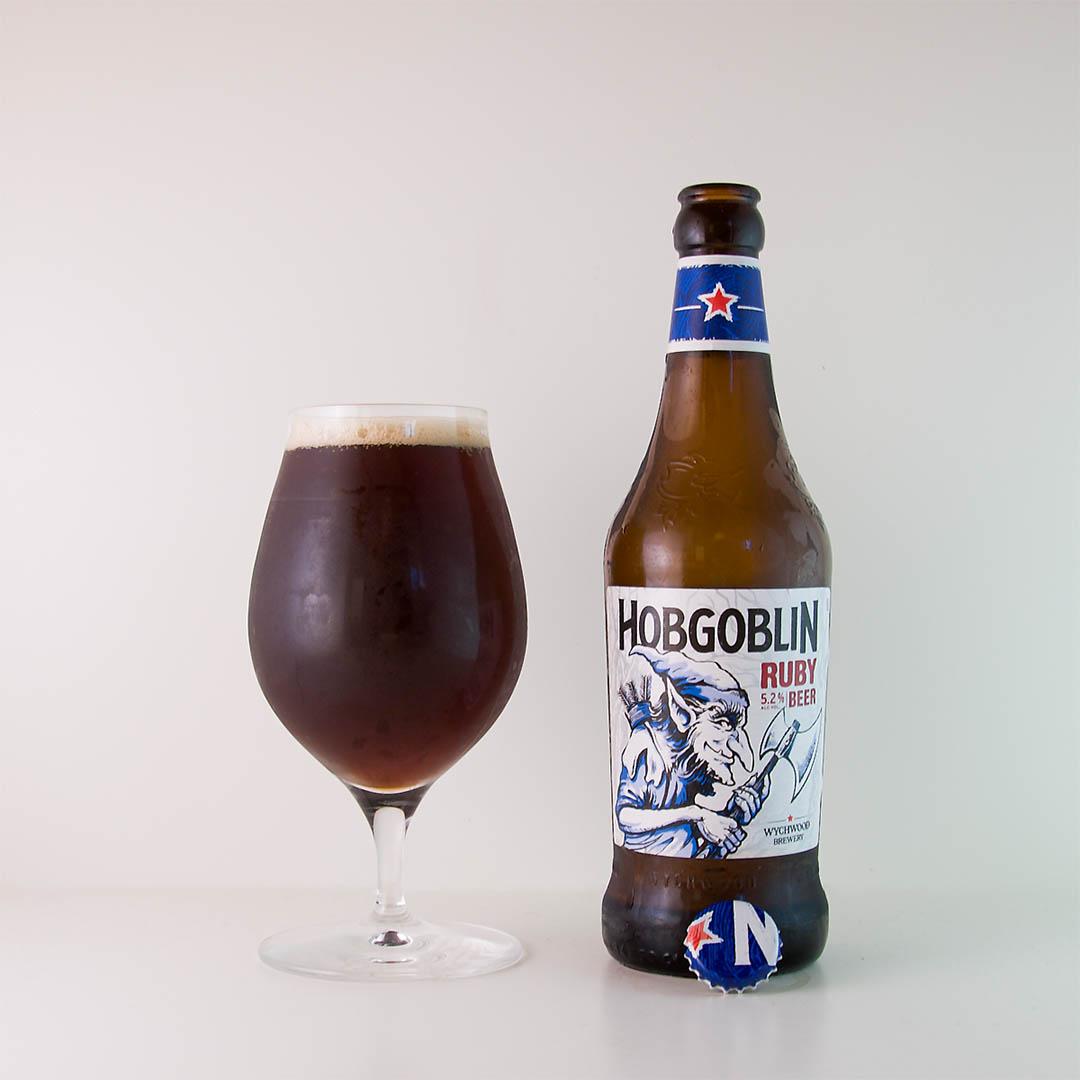 Hobgoblin Ruby från Wychwood Brewery är en helt okej öl, men inte mer än så om ni frågar mig.