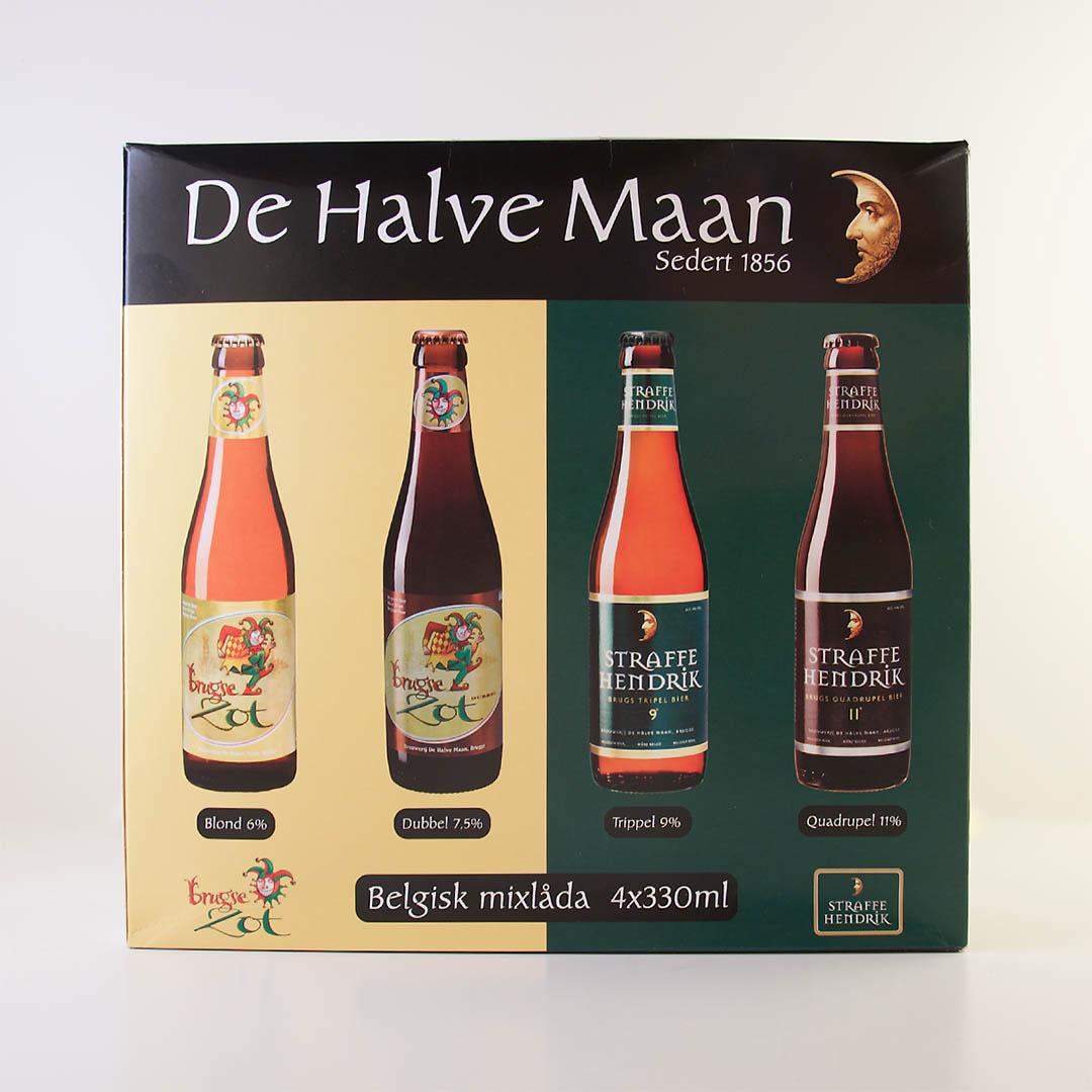 Huisbrouwerij De Halve Maan Mixpack - Vad tycker jag egentligen om bryggeriets öler?