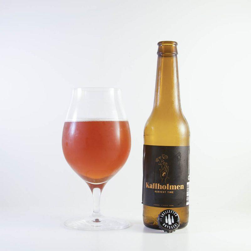 Kallholmen Harvest Time från Skellefteå Bryggeri är en helt okej öl.