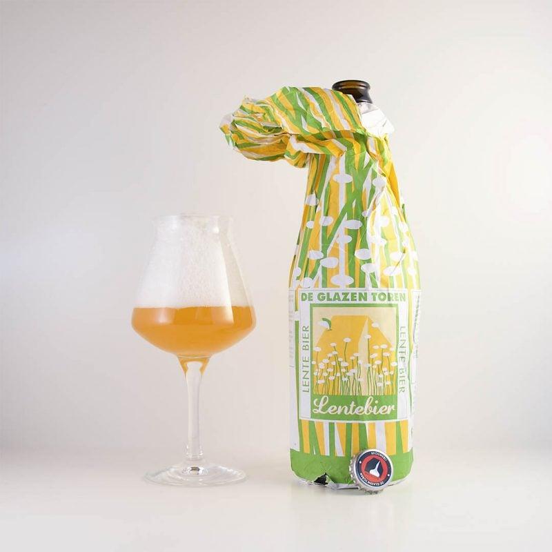 Lente Bier från Brouwerij De Glazen Toren smakar typisk Belgien.