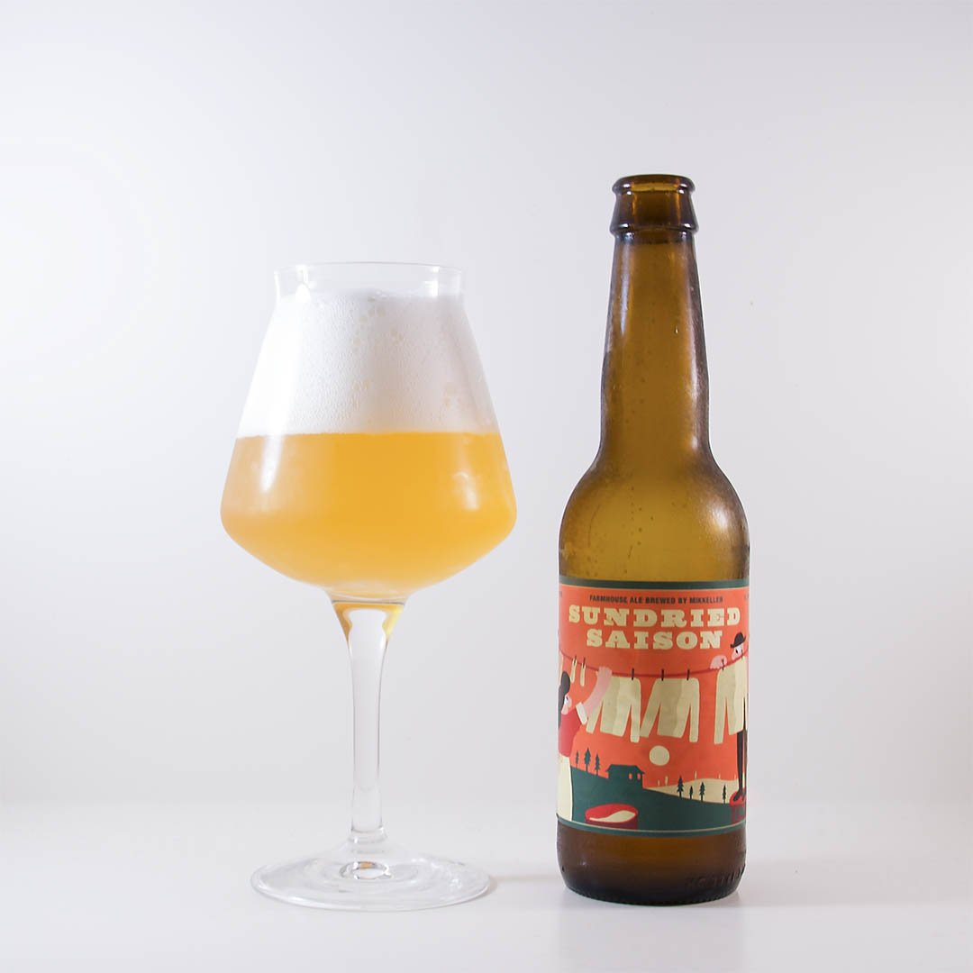 Mikkeller Sundried Saison är helt okej öl, men inte mer än så.