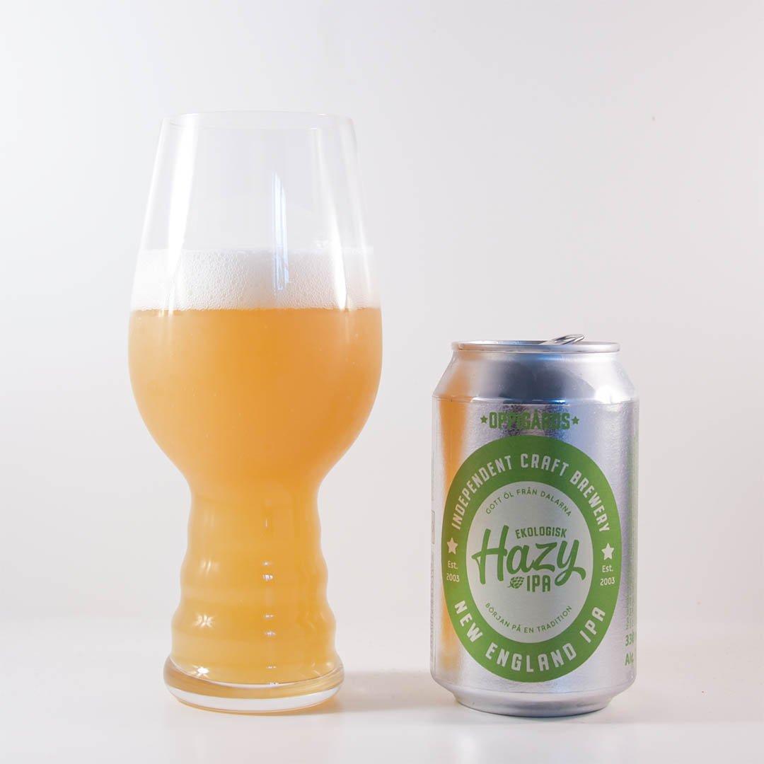 Oppigårds Ekologisk Hazy IPA är helt okej öl, men inte mer än så.
