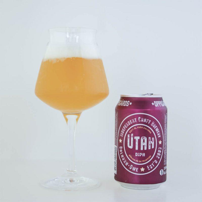 Oppigårds Utah DIPA från Oppigårds Bryggeri är en välsmakande öl.