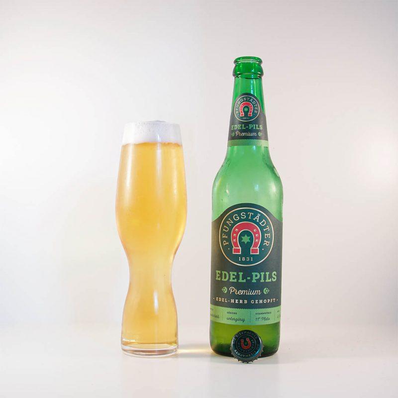 Pfungstädter Edel-Pils Premium är trevlig öl av stilen pilsner.