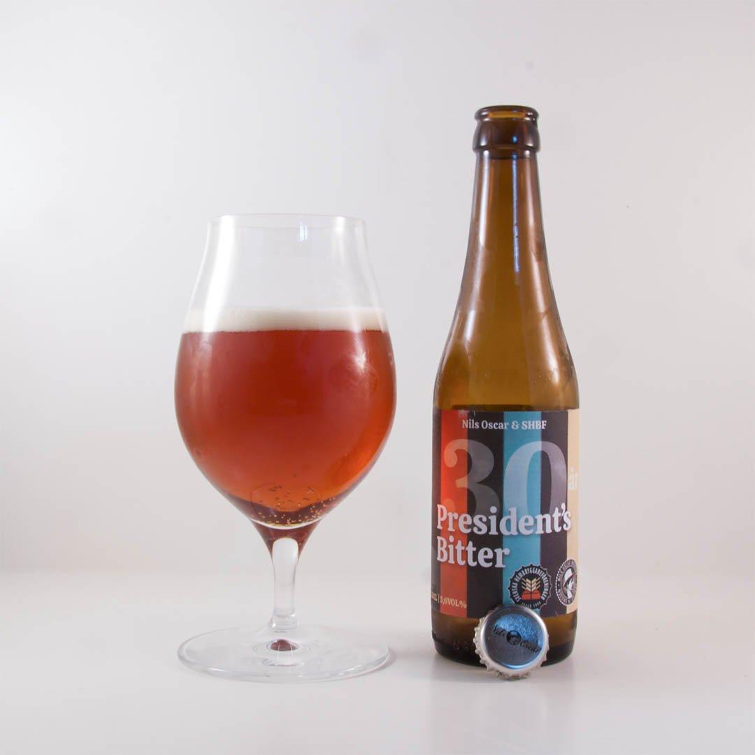 President's Bitter från Nils Oscar är helt okej öl. Men jag måste inte köpa den igen.