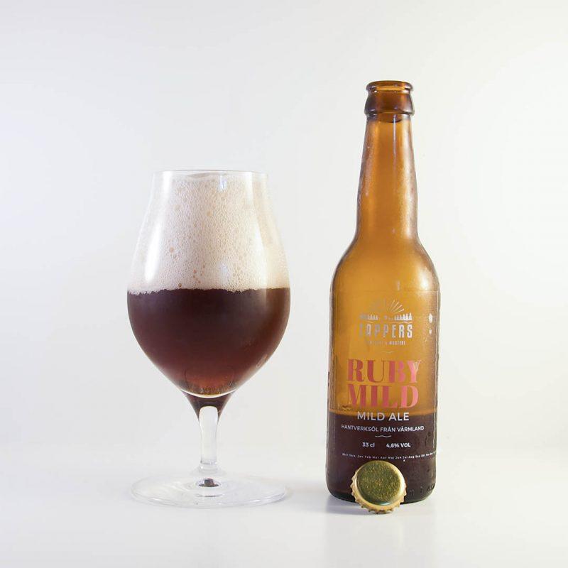 Ruby Mild från Tappers Bryggeri är en helt okej öl. Men jag måste inte köpa den igen.