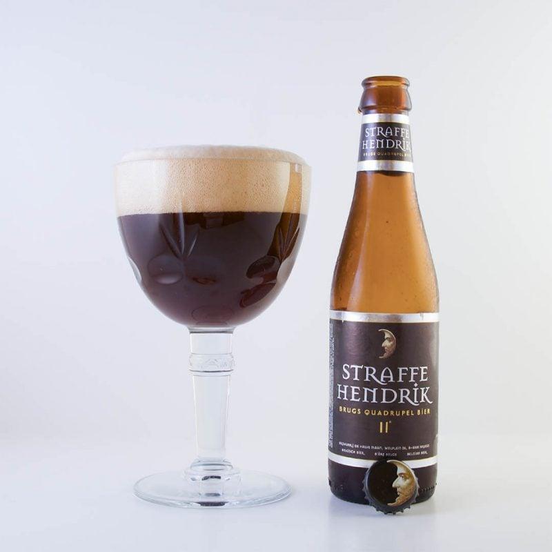 Straffe Hendrik Brugs Quadrupel Bier 11° från Huisbrouwerij De Halve Maan