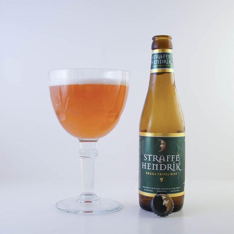 Straffe Hendrik Brugs Tripel Bier 9° från Huisbrouwerij De Halve Maan