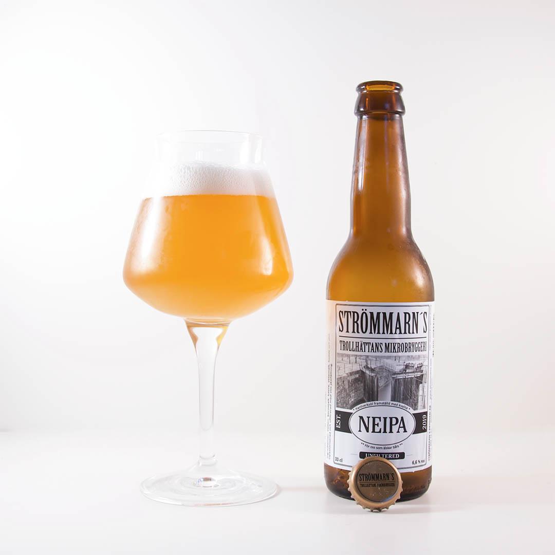 Strömmarn's NEIPA från Strömmarn's Bryggeri är trevlig öl av stilen new England IPA.