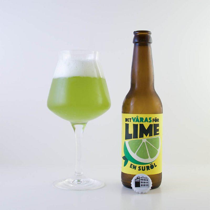 De Våras För Lime - En Suröl från Örebro Brygghus som smakar... lime!