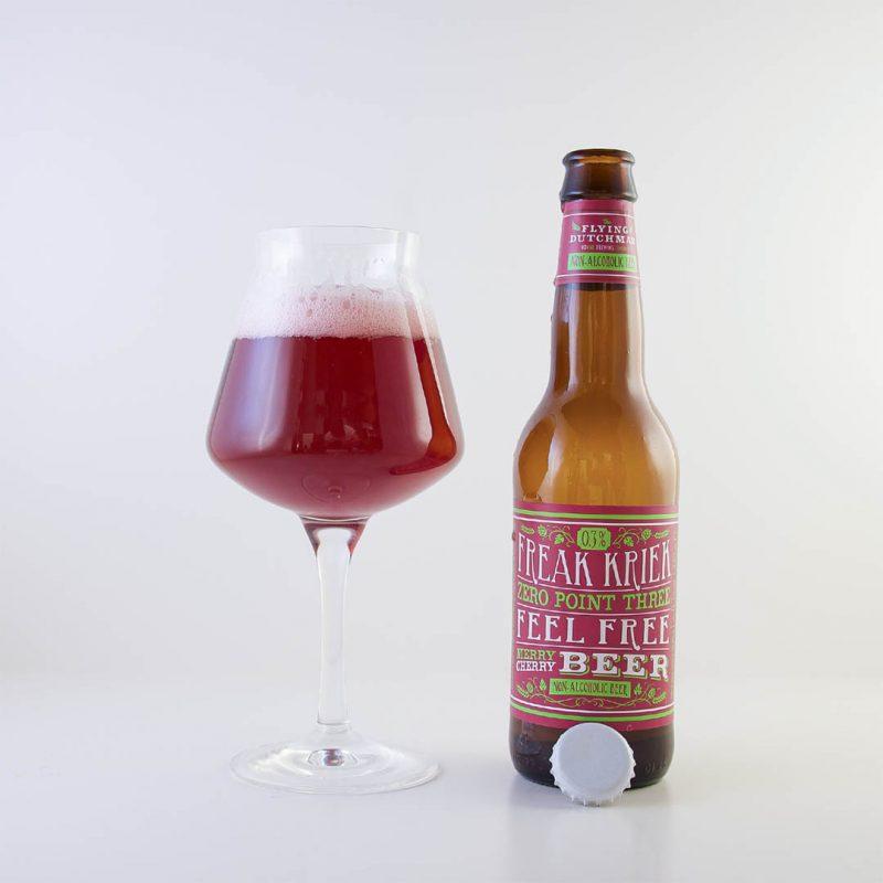 Freak Kriek Zero Point Three smakar saft. Men det är en alkoholfri öl från The Flying Dutchman Nomad Brewing Company.
