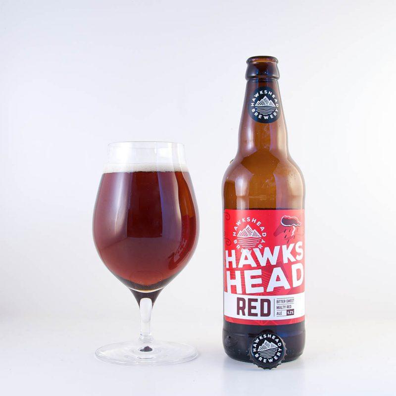 Hawkshead Red Bitter är en helt okej öl, men inte mer än så.