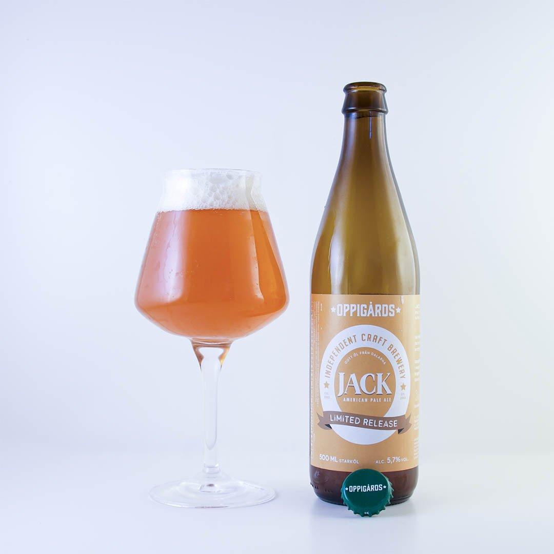 Oppigårds Jack APA är en limiterad öl som gärna får finnas kvar för min del.