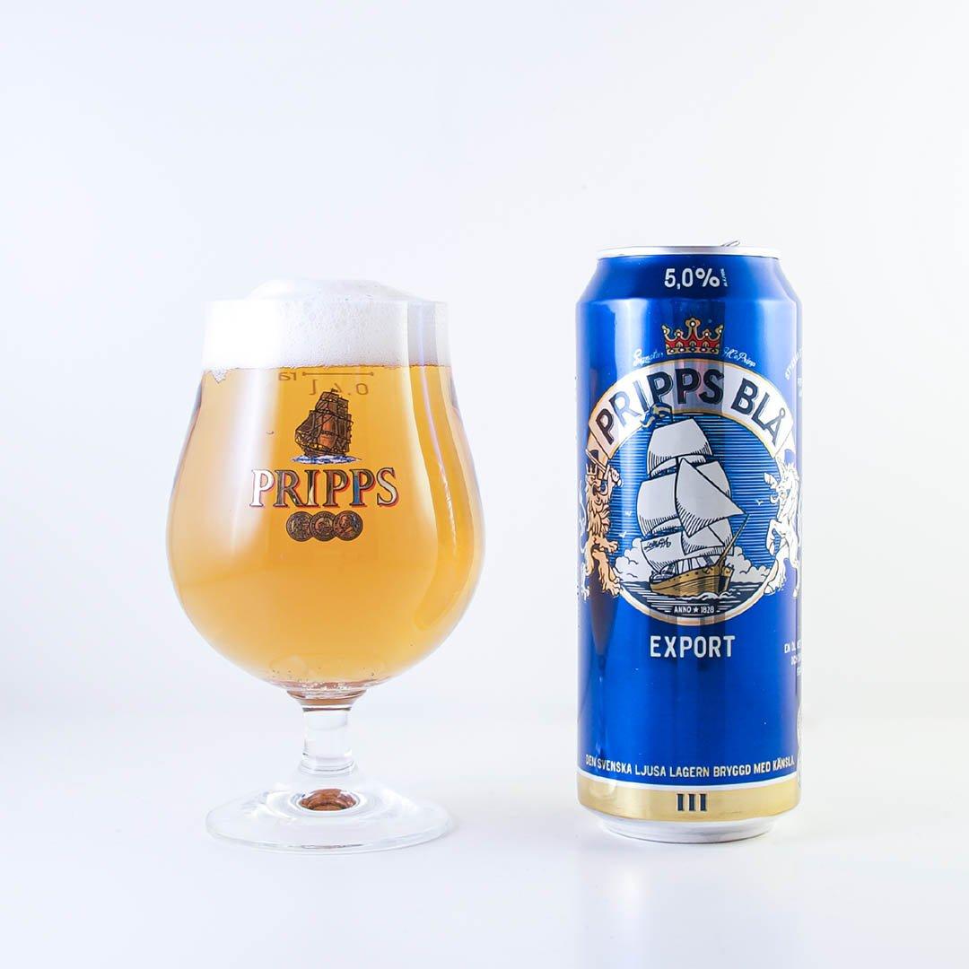 Pripps Blå Export är mycket öl för pengarna. Men det är ingen smaksensation.