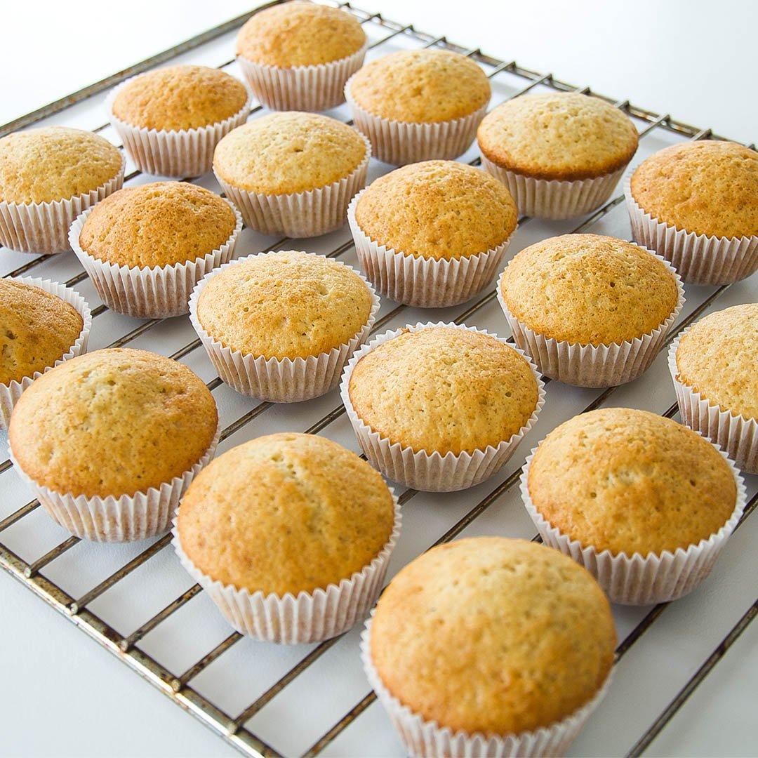 Muffins - klassiskt enkelt grundrecept på fluffiga och goda