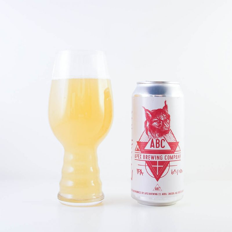 Apex Zenith IPA från Apex Brewing är lite rivig i smaken.