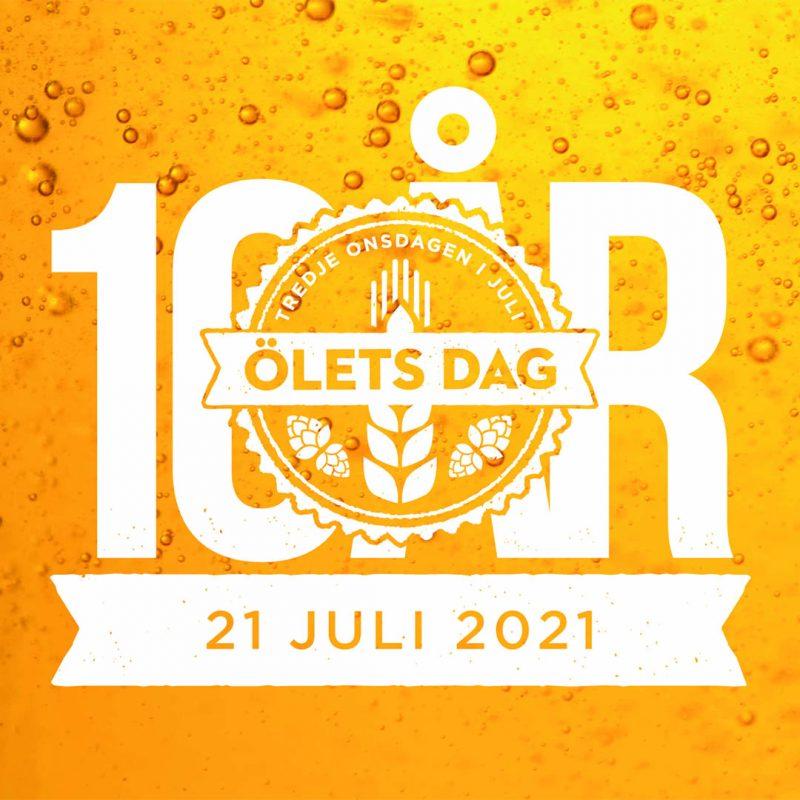 Ölets dag - dagen då du ska dricka svensk öl och stödja våra svenska ölproducenter.