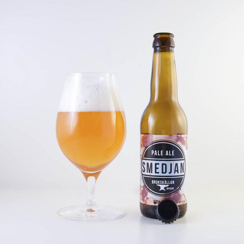 Smedjan Pale Ale från Brukskällan Dalsland är ingen öl som imponerar på mig.
