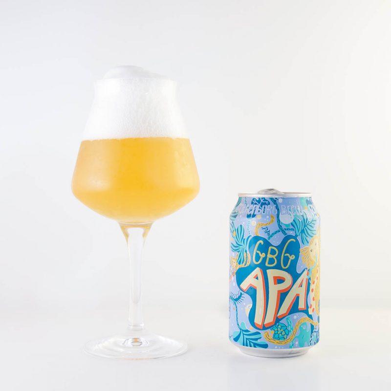 GBG APA från Gothenburg Brew är en lättsam och smakfull öl.