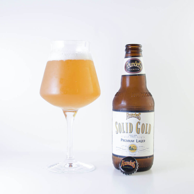 Founders Solid Gold från Founders Brewing Company är en okej öl. Men inte mer än så.