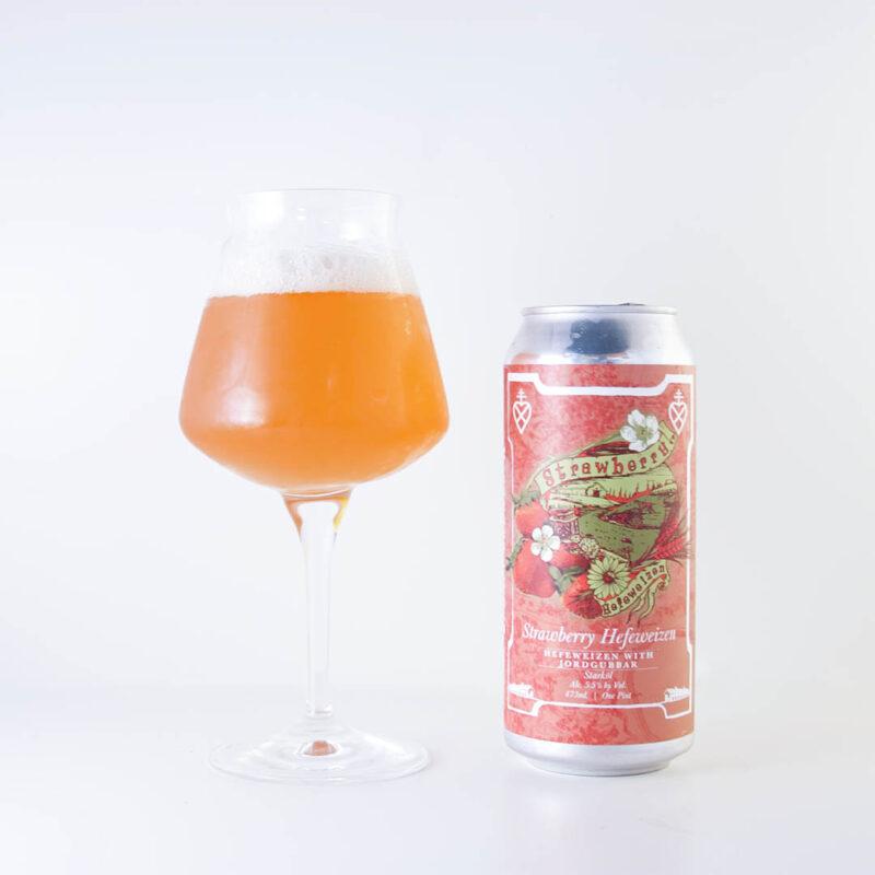 Virginia Strawberry Hefeweizen från Lickinghole Creek Craft Brewery imponerar inte på mig.